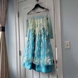 Disney frozen costume size 9 /10